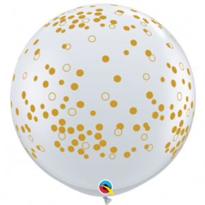 3ft New Year Balloons | Confetti Dots | Free Delivery available
